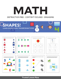 MATH - Learn Shapes and Transformations (FREE SAMPLE)