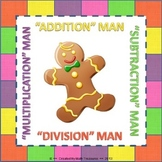 """""""MATH"""" MAN BUNDLE. Addition, Subtraction, Multiplication, and Division Game"""