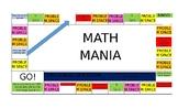 MATH MANIA BOARD GAME (7th Grade - Unit 1)