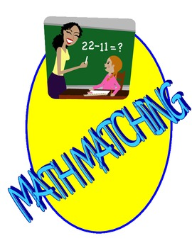 MATH MATCHING: Addition and Subtraction fact practice