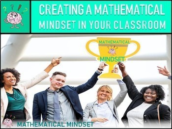MATH MINDSET CLASSROOM NORMS POSTERS