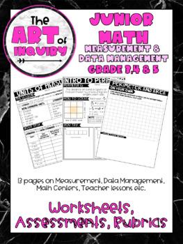 MATH   Measurement   Unit of Measure   Perimeter & Area   Graphs  Grade   3,4 &5