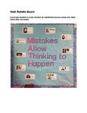 MATH - Mistakes Bulletin Board