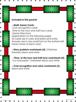 Math money coins time christmas activities games worksheets tpt math money coins time christmas activities games worksheets ibookread Download