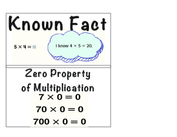 MATH: Multiplication and Division vocabulary and strategy charts! IN COLOR!