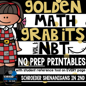 MATH NO PREP PRINTABLES for NBT