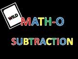 MATH-O Subtraction