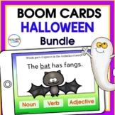 MATH, PHONICS & GRAMMAR Activities HALLOWEEN BOOM CARDS Bundle