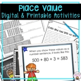 PLACE VALUE WORKSHEETS, ACTIVITIES, LESSON PLANS, AND MORE