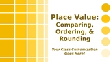 MATH Place Value Comparing, Ordering, and Rounding Whole Numbers PowerPoint PPT