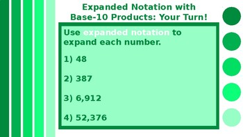 MATH Place Value Expanding 3 Ways Expanded Notation Gr. 5, 6, 7 PowerPoint PPT