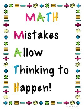 Image result for mistakes allow thinking to happen