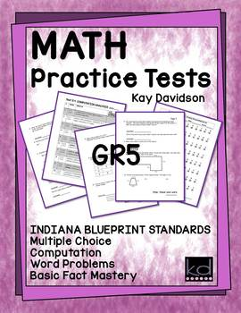MATH Practice Tests ISTEP Grade 5
