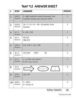 MATH Practice Tests  ISTEP Grade 4