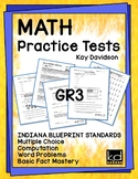 MATH Practice Tests for ILEARN Grade 3