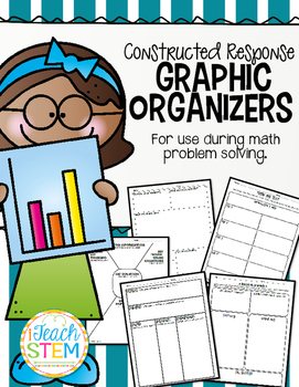 MATH Problem Solving Graphic Organizers - CCSS Constructed Response Math Tasks