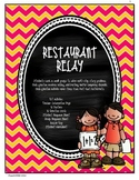 MATH Problem Solving with Decimal Numbers - Restaurant Relay