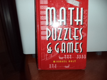 MATH Puzzles & Games   ISBN#0-88029-948-7