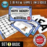 MATH READY 2nd Grade Task Cards - Addition & Subtraction to 1,000 ~ BASIC SET 1