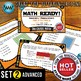 MATH READY 3rd Grade Task Cards – Area of Rectangles ~ ADVANCED SET 2
