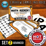 MATH READY 3rd Grade Task Cards – Area of Rectangles ~ ADV