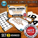 3.6A 3rd Grade MATH READY Task Cards – Classify & Sort 2D & 3D Solids ADVANCED 3