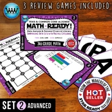 3.8A 3.8B 3rd Grade MATH READY Task Cards – Summarizing Data Sets ADVANCED SET 2