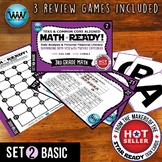 3.8A 3.8B 3rd Grade MATH READY Task Cards - Summarizing Data Sets BASIC SET 2