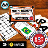 4.6D 4th Grade Math Task Cards – Classifying 2-Dimensional Figures ADVANCED 2