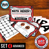 3.3H  3rd Grade MATH READY Task Cards – Comparing Fractions ~ ADVANCED SET 4