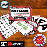 3.3F 3rd Grade Math Task Cards Representing Equivalent Fractions ADVANCED SET 3
