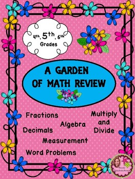 6TH Grade Math Back to School Review