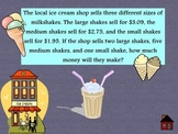 MATH REVIEW FLIPCHART WORD PROBLEMS ALL OPERATIONS MULTI STEP GRADES 4+