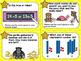 MATH REVIEW TASK CARDS- First Grade