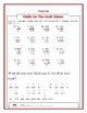 MATH RIDDLES - ADDING DECIMALS EDITION