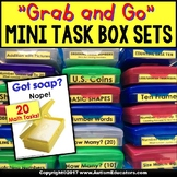 MATH SKILLS Mini Task Boxes for Assessment and Instruction in Special Education