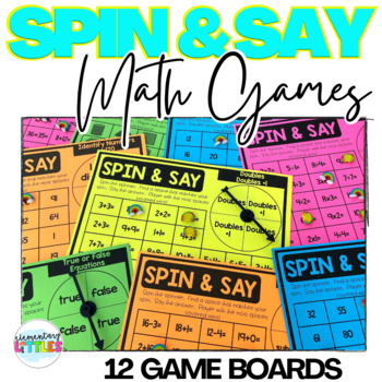MATH SPIN AND SAY