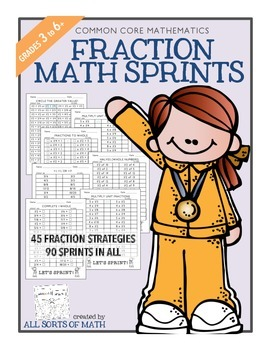 FRACTION MATH SPRINTS