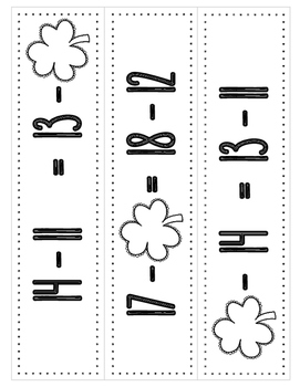 MATH STATIONS - Black and White - Grade 2 - MARCH