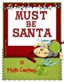 MATH STATIONS - Must Be Santa