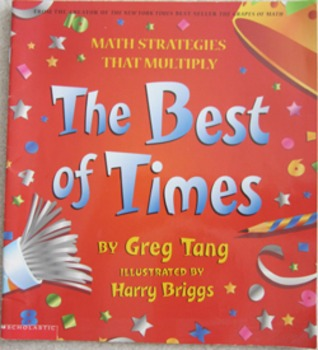MATH STORY The Best of Times Greg Tang + Skittles Riddles Math primary Gr 1 2 3
