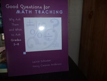 MATH TEACHING    ISBN#0-941355-69-1