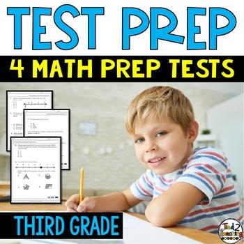 3rd grade Math Test Prep Practice Assessments