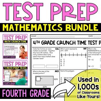 Math Test Prep: 4th Grade