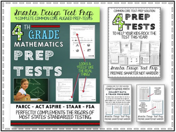 Math Test Prep: 4th Grade