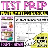 Math Test Prep: 4th Grade Bundle