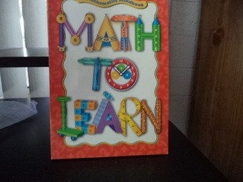 MATH TO LEARN        ISBN 0 669 48872 0