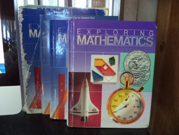 MATH TRAILBLAZERS    GRADE 5   SET OF 4