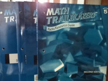 MATH TRAILBLAZERS     (SET OF 4)