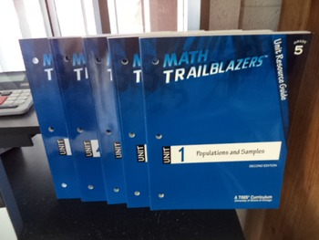 MATH TRAILBLAZERS         (SET OF 5)